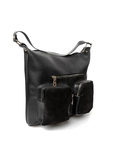 EOZ- Wera polo çanta Postacı Çantası Siyah